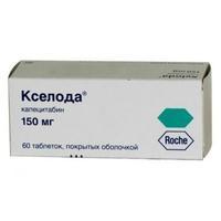 Кселода таблетки 150 мг, 60 шт.