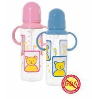 Курносики бутылочка с ручками с силиконовой соской 250мл