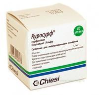 Куросурф суспензия для эндотрахеального введения 80 мг/мл 1,5 мл флаконы 1 шт.