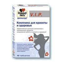 Доппельгерц vip комплекс для красоты и здоровья таблетки, 40 шт.