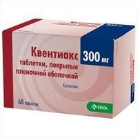 Квентиакс таблетки 300 мг, 60 шт.