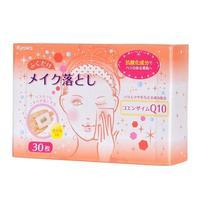 Kyowa Shiko салфетки для снятия макияжа с добавлением коэнзима Q10 30 шт.