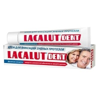 Lacalut Dent крем для зубных протезов 40 г