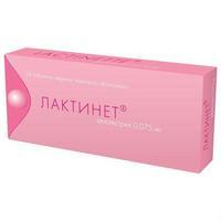 Лактинет таблетки 75 мкг, 28 шт.