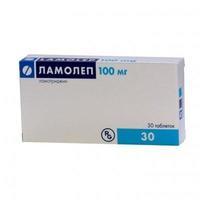 Ламолеп таблетки 100 мг, 30 шт.