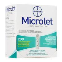Ланцеты Microlet 200 шт.