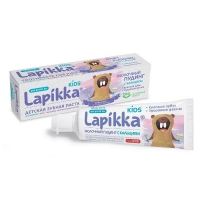 Lapikka Kids Зубная паста Молочный пудинг с кальцием 45г