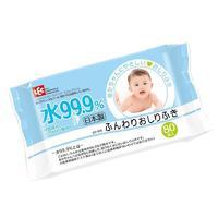 Lec салфетки влажные LEC детские голубая пачка 80 шт.