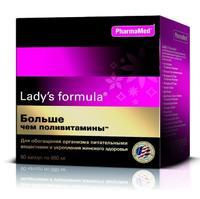 Ледис формула больше чем поливитамины капсулы, 60 шт.