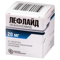Лефлайд таблетки 20 мг, 30 шт.
