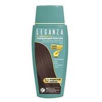 Leganza Тонирующий бальзам N32 Искристый каштан 150мл