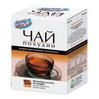 Худеем за неделю чай похудин жиросжигающий комплекс пакетики 2 г, 25 шт.