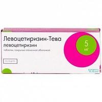 Левоцетиризин-Тева таблетки покрыт.плен.об. 5 мг 7 шт.