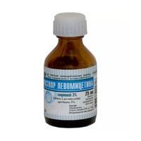Левомицетин флаконы 3% , 25 мл