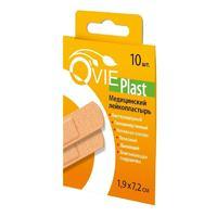 Лейкопластырь бактерицидный O vie plast на нетканной основе 1,9х7,2 см 10 шт.