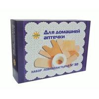 Лейкопластырь Лейко Для домашней аптечки набор, 30 шт.