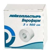 Лейкопластырь Верофарм 3х500 см