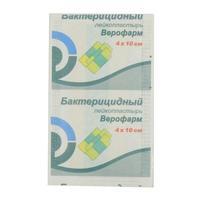 Лейкопластырь Верофарм бактерицидный 4х10 см