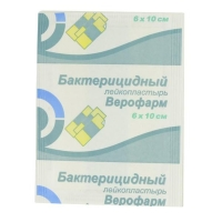 Лейкопластырь Верофарм бактерицидный 6х10 см