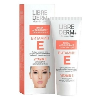 Либридерм Витамин Е маска-антиоксидант увлажняющая 75 мл