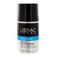 Lierac Homme дезодорант 24 часа защиты для мужчин ролик 50 мл