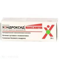 Хондроксид максимум крем д/наруж. прим. 8% 50г