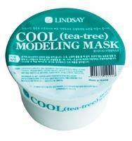 Lindsay моделирующая альгинатная маска для лица с экстрактом листьев чайного дерева 30 г