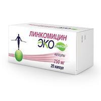 Линкомицин Эколинком капсулы 250 м 20 шт.
