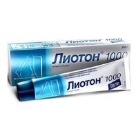 Лиотон 1000 гель 1000 ед/г, 100 г