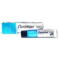 Лиотон 1000 гель 1000 ед/г, 30 г