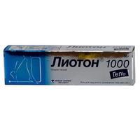 Лиотон 1000 гель 1000 ед/г, 50 г
