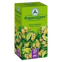 Липа цветы фильтр-пакеты 1,5г №20