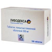 Ливодекса таблетки 300 мг, 100 шт.