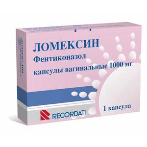 Ломексин 1000мг капс. вагинальные х1