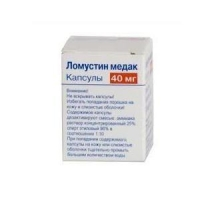 Ломустин медак капсулы 40 мг, 20 шт.
