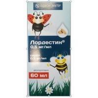 Лордестин сироп 0,5 мг/мл 60 мл