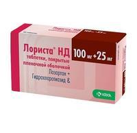 Лориста нд таблетки 100 мг+25 мг, 60 шт.