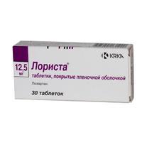 Лориста таблетки 12,5 мг, 30 шт.