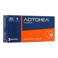 Лотонел таблетки 5 мг 30 шт.