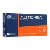 Лотонел таблетки 5 мг 60 шт.
