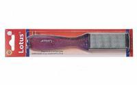 Lotus Терка педикюрная прозрачная фиолетовая (RB-05) 1 шт