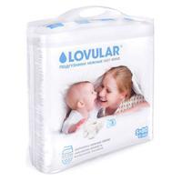 Lovular Hot Wind Подгузники детские S 0-6 кг 80 шт.