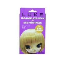 LUKE Гидрогелевые патчи для кожи вокруг глаз от припухлостей с экстрактами огурца и бамбука 5 п