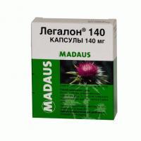 Легалон капс. 140 мг №30