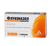 Флуконазол капсулы 150 мг, 1 шт.