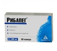Рибапег капсулы 200 мг, 30 шт.