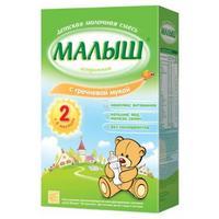 Малыш Истринский молочная смесь с гречневой мукой 6 мес. 350г упак.
