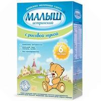 Малыш Истринский молочная смесь с рисовой мукой 6 мес. 350г упак.