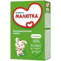 Малютка Кисломолочная -1 молочная смесь 0-6 мес. 350 г