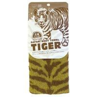 Marna мочалка с ребристой текстурой Тигр 1 шт.